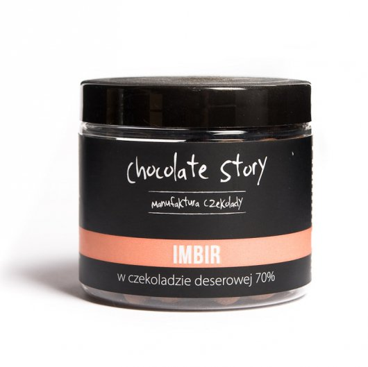 Imbir w czekoladzie Manufaktura Czekolady