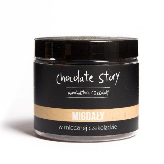 migdały w czekoladzie manufaktura czekolady