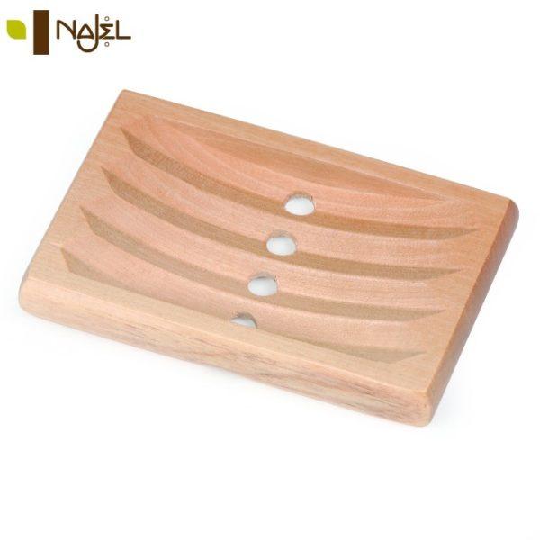 drewniana mydelniczka marki Najel