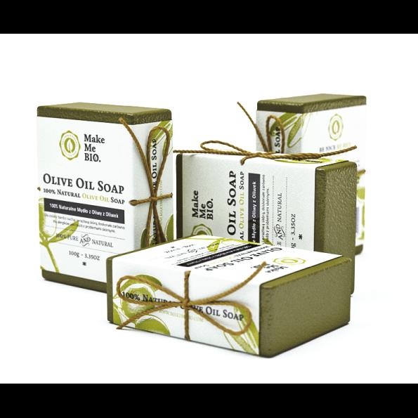 naturalne mydło z oliwy z oliwek make me bio
