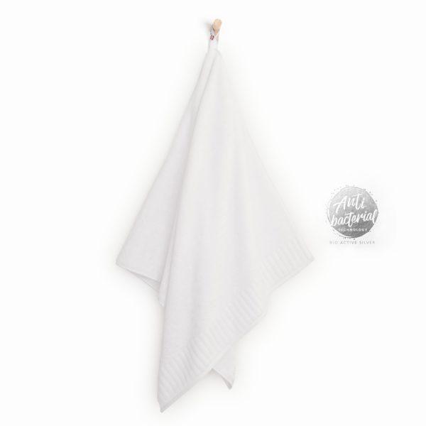 ręcznik biały antybakteryjny z jonami srebra