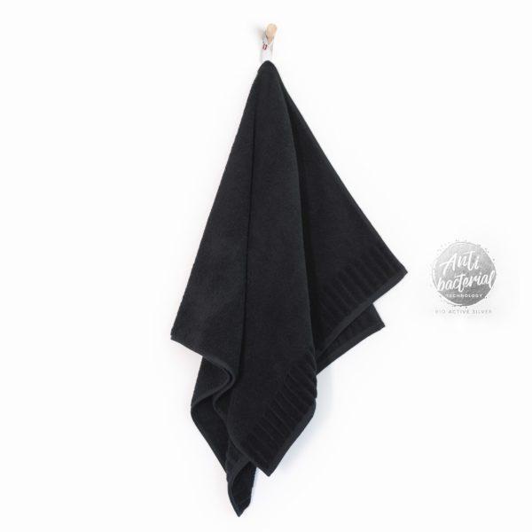 czarny ręcznik zwoltex ręcznik antybakteryjny