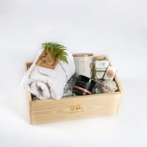 domowe spa zestaw prezentowy wellness