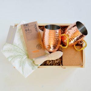 Pomysł na prezent dla faceta Miedziany kubek sklep online sobox.pl miedziany prezent miedziane kubki