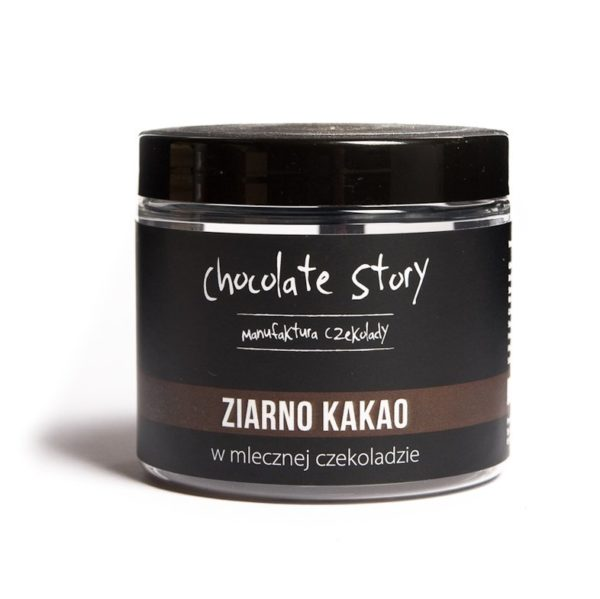 ziarno kakao w czekoladzie manufaktura czekolady