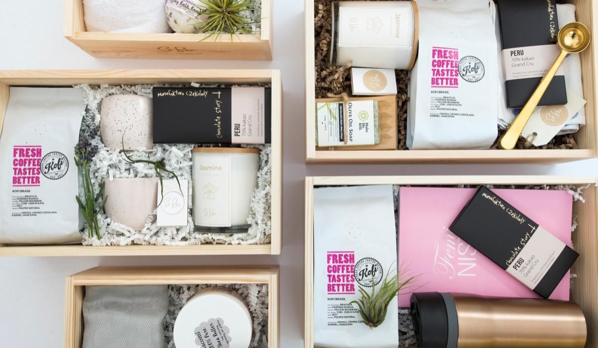 Box kosmetyczny czy kosz delikatesowy - wybierz sam!