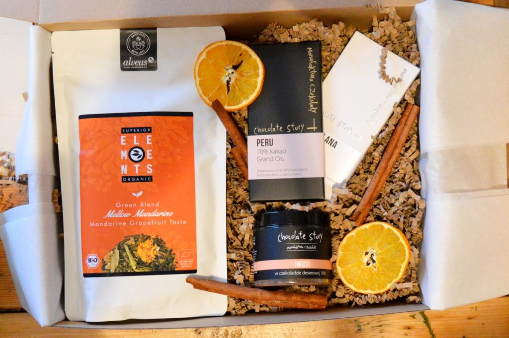 zestaw prezentowy herbaciany