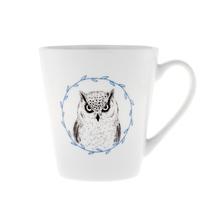 Ceramika Kalva kubek z puchaczem kubek z sową