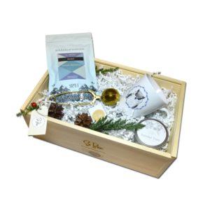 herbaciany świąteczny zestaw upominkowy na pod choinkę