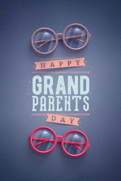 Happy Grandparent's Day Pomysł na Dzień Babci i Dziadka