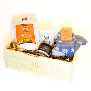 prezent na dzień babci zestaw prezentowy gift box
