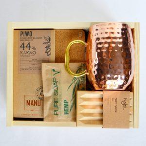uniwersalny prezent dla mężczyzny moscow mule mug kubek miedziany na prezent dla faceta dla męża na dzień chłopaka