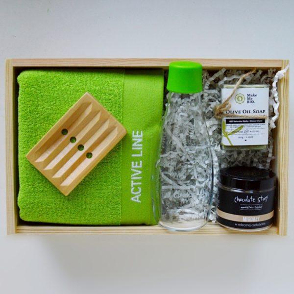 prezent dla sportsmenki gift box dla kobiety