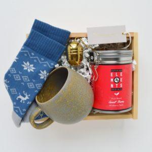 tea & socks box skarpetki