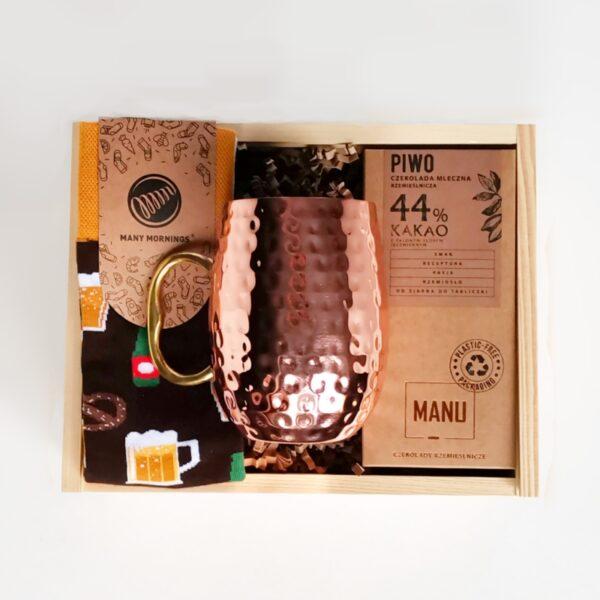 prezentowy zestaw dla piwosza gift box na prezent dla piwosza
