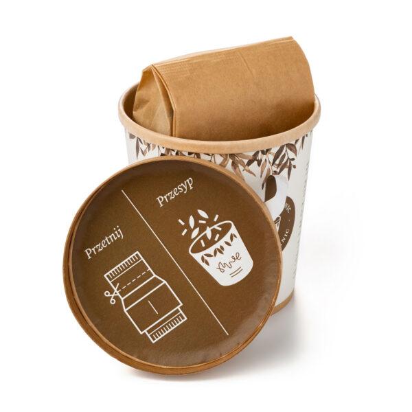 herbata ekologicznie zapakowana
