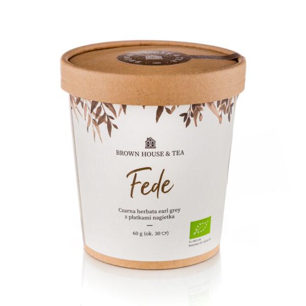 Fede Brown House & Tea ekologiczna herbata z nagietkiem