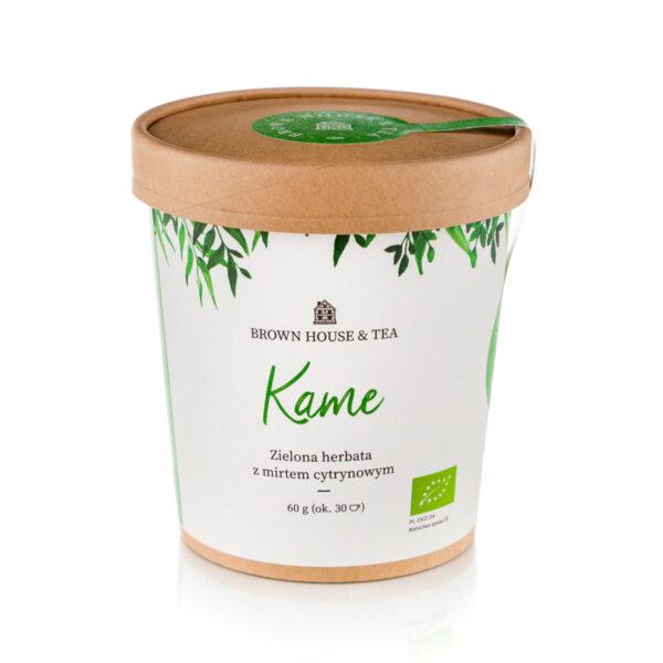 Kame Brown House & Tea ekologiczna herbata z mirtem cytrynowym