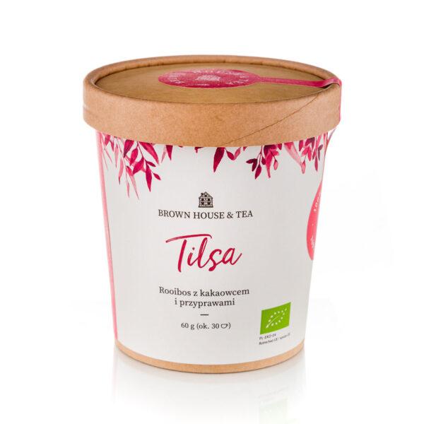 Tilsa Brown House & Tea ekologiczna rooibos z kakaowcem