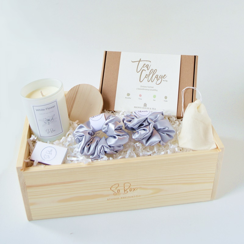 zestaw herbat na prezent w pudełku prezent na dzień matki z dostawą