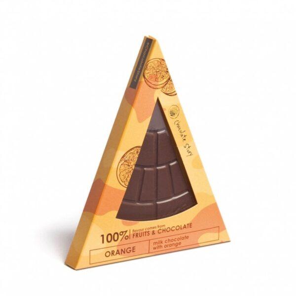 czekolada pomarańczowa unicorn Manufaktura Czekolady